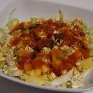 Sałatka ananas i sezam