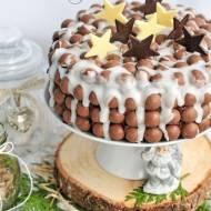 Świąteczne ciasto czekoladowo - cytrynowe