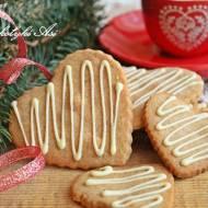 Korzenne ciasteczka serduszka