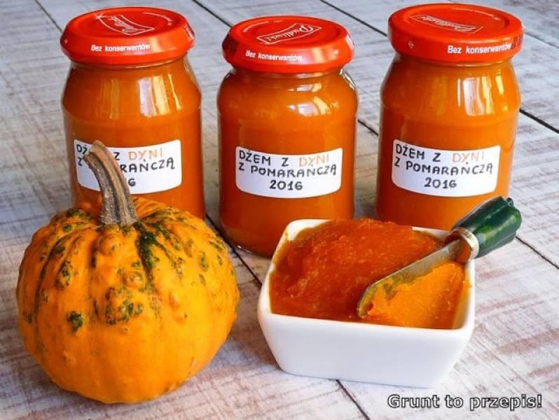 Dżem dyniowy z pomarańczą