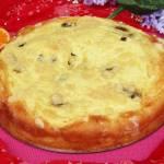 Kołacz drożdżowy z serem