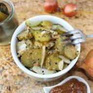 Sałatka z kiszonych ogórków z musztardą (do obiadu)