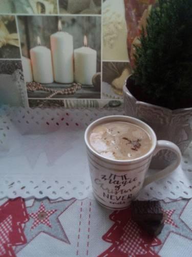 Ciasteczkowa kawa z mlekiem
