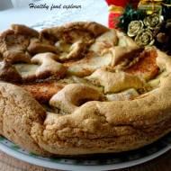 Omlet piernikowy z jabłkiem i bananem