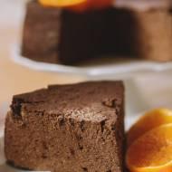 tofurnik czekoladowo-pomarańczowy