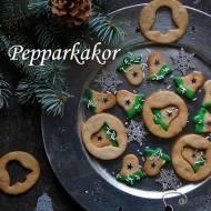 Pepparkakor, szwedzkie pierniczki imbirowe