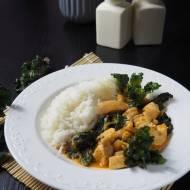 Curry z kurczakiem i kalerosse