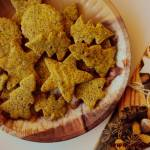 Ciastka z  makiem i miodem ( bez glutenu i masła)