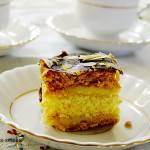 Miodownik ciasto miodowe z masą budyniową