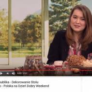 Dekorowanie stołu świątecznego - zdjęcia + film z TV