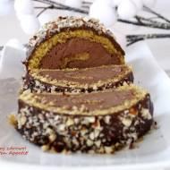 Rolada orzechowa z kremem czekoladowym - bezglutenowa