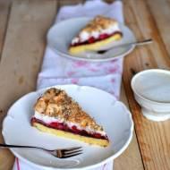 Ciasto z malinami i bezą / Raspberry meringue pie