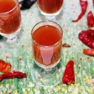 Russian Bloody Mary/Rosyjska Krwawa Marysia - shot z sokiem pomidorowym