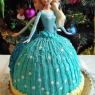 Tort Kraina Lodu (Frozen) – pomysł na dekorację IX