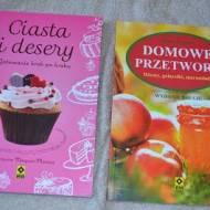 """""""Domowe przetwory"""" i """"Ciasta i desery"""""""
