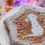 Świąteczny piernik na białkach z powidłami (bez cukru)