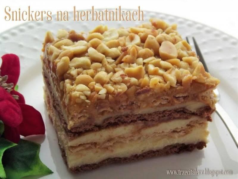 Przepis Na Ciasto Snickers Na Herbatnikach Trzeci Talerz