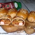 Mini-chlebki piwne z nadzieniem