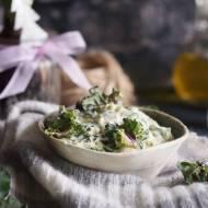 Kalerosse w śmietance z parmezanem / Creamed parmesan kalettes