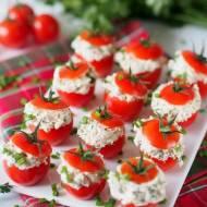 Pomidorki koktajlowe nadziewane