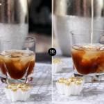 Koktajl alkoholowy z likierem kawowym i śmietanką White Russian – Biały Rosjanin