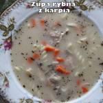 Zupa rybna z (głów) karpia