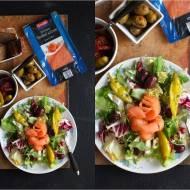 Sałatka z wędzonym łososiem! menu sylwestrowe