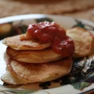 Delikatne placuszki na śniadanie