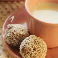 noworoczne kokosowe trufle z mascarpone