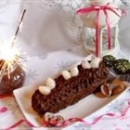 Noworoczny torcik czekoladowy bez mąki i tłuszczu