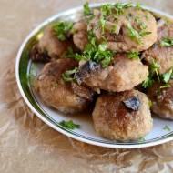 Pulpety w sosie z suszonych grzybów