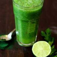 Zielony koktajl oczyszczający
