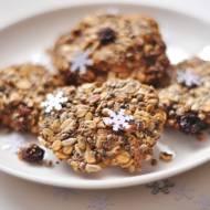 Chrupiące ciasteczka owsiane | bez mąki (glutenu), masła, cukru, laktozy |