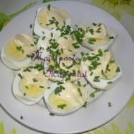Karnawał 2017 - przystawki i przekąski: Jajka w majonezie