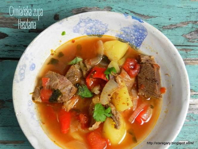 Ormiańska zupa Haszlama