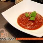 Ziołowy sos pomidorowy z cukinii