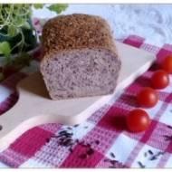 Chleb razowy z czarnym ryżem