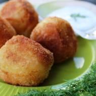 Kuleczki ziemniaczane z serem!