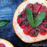 Pieczony grejpfrut - zdrowy deser