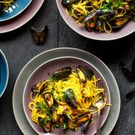 Spaghetti z mulami