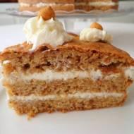 Tort z ciasteczkami amaretti i rumem (Torta di amaretti e rhum)