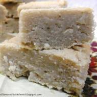 Bezglutenowe białe (Vege) Brownie
