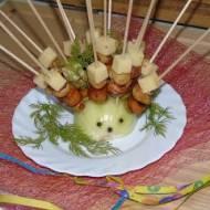 Koreczki z kiełbaską