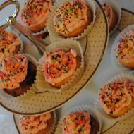 Najprostsze muffinki z kremem z mascarpone