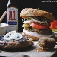 Przepyszne burgery BBQ z indyka
