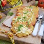 Placki ziemniaczane z papryką i serem żółtym