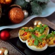 Jajka nadziewane pastą z makreli