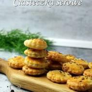 Serowe ciasteczka wytrawne