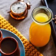 Sok pomarańczowo-korzenny do herbaty