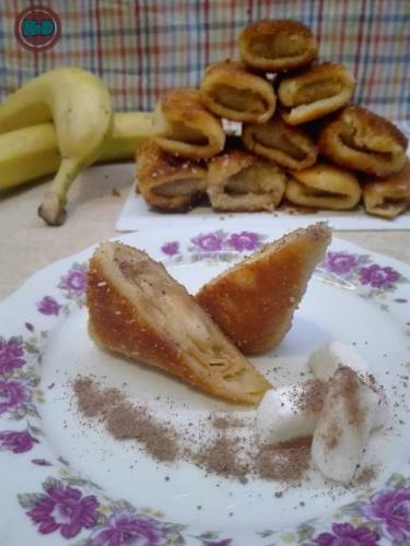 Slodkie krokiety z bananami
